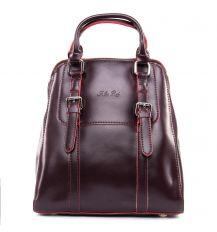 Сумка Женская Рюкзак кожа ALEX RAI 09-3 8778 burgundy