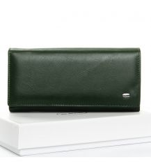 Кошелек Classic кожа DR. BOND W1-V dark-green