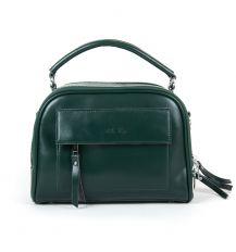 Сумка Женская Классическая кожа ALEX RAI 9-01 8545 green