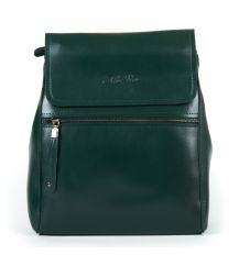 Сумка Женская Рюкзак кожа ALEX RAI 9-01 1005 green