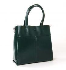 Сумка Женская Классическая кожа ALEX RAI 9-02 371 green