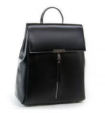 Сумка Женская Рюкзак кожа ALEX RAI 03-01 373 black