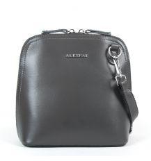 Сумка Женская Классическая кожа ALEX RAI 05-01 8803 grey