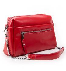 Сумка Женская Классическая кожа ALEX RAI 03-02 1052 red
