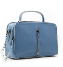 Сумка Женская Классическая кожа ALEX RAI 03-02 9119 blue