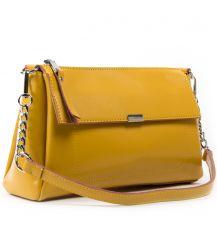 Сумка Женская Классическая кожа ALEX RAI 05-01 8721 yellow