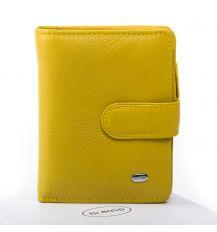Кошелек Classic кожа DR. BOND WN-2 yellow