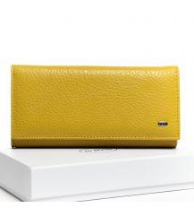 Кошелек Classic кожа DR. BOND W1-V yellow