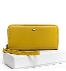 Кошелек Classic кожа DR. BOND W39-3 yellow