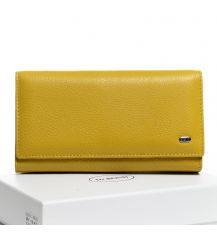 Кошелек Classic кожа DR. BOND W46 yellow