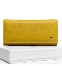 Кошелек Classic кожа DR. BOND W501 yellow