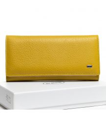 Кошелек Classic кожа DR. BOND W501-2 yellow