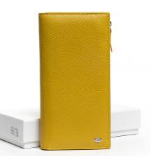 Кошелек Classic кожа DR. BOND WMB-3M yellow