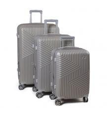 Дорожная Чемодан 31 ABS-пластик 802 silver