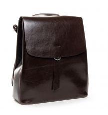 Сумка Женская Рюкзак кожа ALEX RAI 03-09 18-377 brown